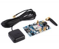 GSM/GPRS + GPS + Bluetooth Shield SIM808 с антенами