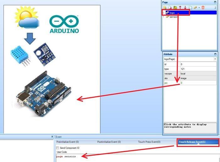 Nextion дисплей: описание, подключение, схема, характеристики   ВИКИ