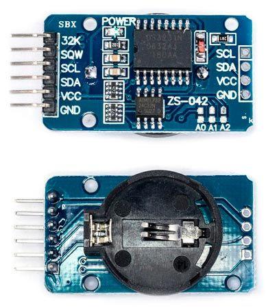 В схеме ds имеется встроенный кварц и термостабилизация, которые позволяют получить значения высокой точности.
